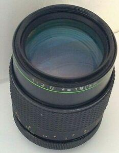 Auto Hanimex MC 135mm f/2.8 Camera Lens Fits Nikon FX? mount
