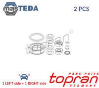 2x TOPRAN REAR BRAKE CALIPER REPAIR KIT 107 083 P NEW OE REPLACEMENT