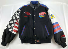 Jeff Gordon Winston Cup Champion Jeff Hamilton Leather Jacket Black - Size M