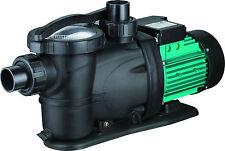9 m³/h selbstsaugende Schwimmbadpumpe 600 Watt Pool Filterpumpe Poolpumpe Pumpe