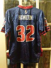 Richard Hamilton Detroit Pistons Football Jersey Youth L 14-16 Rip UCONN Huskies