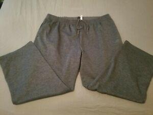 Mens adidas Pants 4XLT Big Tall 4XL Gray Athletic Gym Workout Jogger