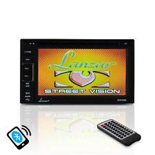 New Pyle Video Headunit Receiver, GPS Bluetooth Wireless Streaming, Double DIN