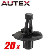 20x Nylon Engine Cover Push-Type Retainer Clips Rivet for Toyota