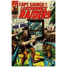 Captain Savage and His Leatherneck Raiders #8 in VG + cond. Marvel comics [*mh]
