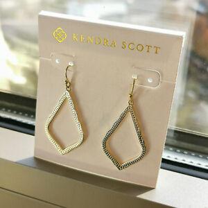 Kendra Scott | Sophia | gold frame drop earrings