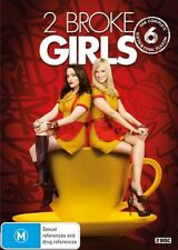 2 Broke Girls : Season 6 (DVD, 2017, 2-Disc Set)