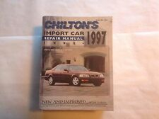 Chilton Import Repair Manual 1993-1997 Saab Audi Volkswagen Volvo BMW Toyota Etc
