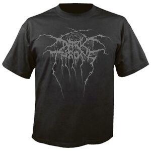 DARKTHRONE - True Norwegian Black Metal Puff Print T-Shirt