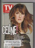 CLEV Metro Ed. Tv Guide Celine Dion Mar/Apr 5, 2002 111619nonr