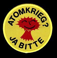 """Atomkrieg - Ja bitte"""" - Aufnäher/Patch"""