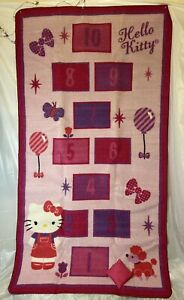 Hello Kitty Game Rug, Made By Franco Manufacturing Co.  Sanrio 2014