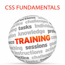 CSS Fundamentals-Video Training Tutorial DVD