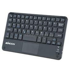 KKMOON 59 Keys Mini Bluetooth Keyboard w/TouchPad Panel for Laptop Phone