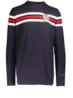 MC2 SAINT BARTH HERON maglione casual in lana blu HERON SKI da uomo
