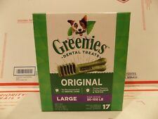 Greenies Grain Free Dental Dog Chews, Large, 17 Treats, 27 Ounces FREE S&H
