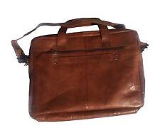 Spikes & Sparrow Sawyer Business Bag in Brandy