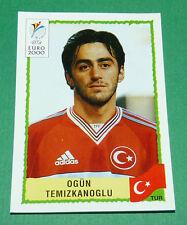N°147 OGÜN TEMIZKANOGLU TURQUIE TÜRKIYE PANINI FOOTBALL UEFA EURO 2000