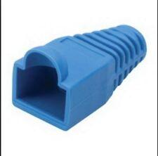 10 x Anschlussabdeckung Stecker rj45 Blu Kabel modem adsl Ethernet PC LAN