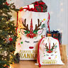 Unicorn Santa Sack Christmas Reindeer Xmas Bag Stocking Personalised Name NS031