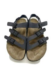 Birkenstock Birki's  Sandals Men's Navy Blue Sz41 Eur Sz 8 US