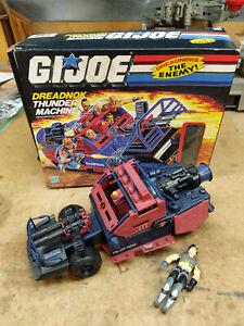 1986 dreadnok thunder machine Cobra GI Joe w/ thrasher, in box, complete