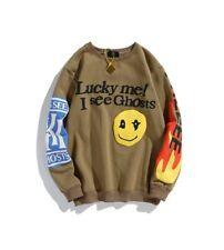 Lucky Me I See Ghosts Oversized Sweatshirt Unisex Kanye West Hoodie