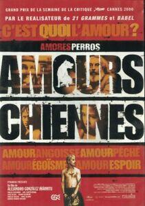 DVD AMOURS CHIENNES ALEJANDRO GONZALEZ INARRITU