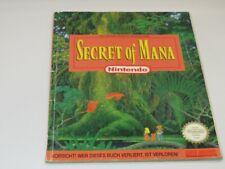 !!! NINTENDO SNES Spieleberater Secret of Mana GUT/OK !!!