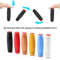 Fidget spinner Roller Stick Flip Trick ADHD & AUTISM Stress Relief Focus Toys