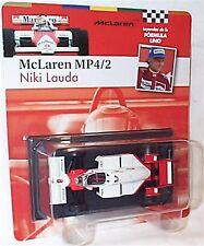 McLaren MP4/2 Niki Lauda 1984 1-43 Scale New in Carded Blister