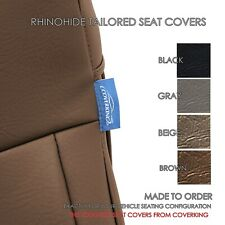 2016-2020 Toyota Tacoma Double Cab Seat Covers - Coverking Rhinohide - Custom