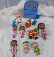 Disney Junior Doc McStuffins set of 13 pieces Santa dragon sheep Christmas toys