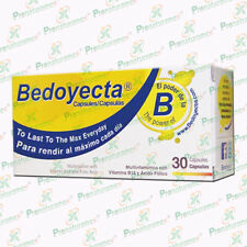 Cápsulas Bedoyecta C/30