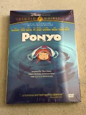 Ponyo (DVD, 2010, 2-Disc Set) Brand New Free Shipping