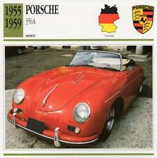 1955-1959 PORSCHE 356A Sports Classic Car Photo/Info Maxi Card