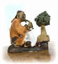 Bonsai Gärtner 293  Porzellan Figuren Koi Asien Figur Asiatika ca. 5,5 x 5,5 cm