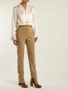 Lemaire Silk Button Cuff Trousers 42 12/14