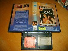 Betamax * CAL * 1984 Warner Home Video Classic Adult Drama Thriller - Beta Tape!