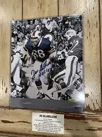Joe Delamielleure Autographed/Signed 8x10 Photo Buffalo Bills HOF