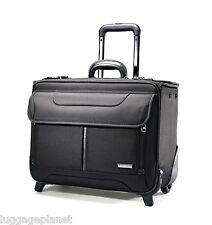 "Samsonite 17"" Wheeled Laptop Sample Case Catalog Case Black 45831-1041"