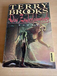 """Terry Brooks """"Das Zauberlabyrinth""""- Taschenbuch (1995)"""