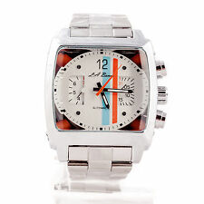 Mens La Banus Automatic Watch Stainless Steel Monaco TW Chronograph Homage 1