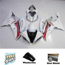 Fit for YAMAHA YZF R6 2008-2015 Injection White Plastic Set Bodywork Fairing k28