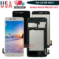 For LG Aristo M210 MS210 LV3 K8 2017 LCD Touch Screen Digitizer Replacement fram