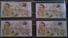 "Team GB 2012 Olympic gold medal winners STAMPS on set of 29 ""Alan Turing"" Covers"