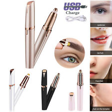 Women Electric Brows Remover Razor Face Eyebrow Trimmer Facial Hair Removal LED