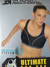 Bra Shock Asorber S5044 Ultimate Run Sports Bra Black Size 32 A New Boxed + Tags