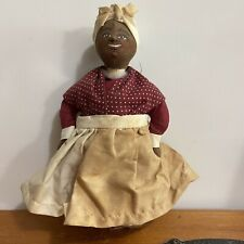 Vintage Black Americana Handmade Cloth Doll