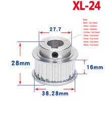 XL-24T Step Timing Pulley Wheel keyway for Width 11mm Belt Reprap 3D Printer CNC